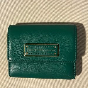 Marc by Marc Jacobs Green Wallet